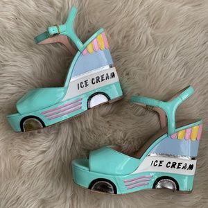 Kate Spade Ice Cream Wedge - Sz 6.5